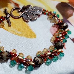 The Fall Collection - Antique Copper Color Leaves